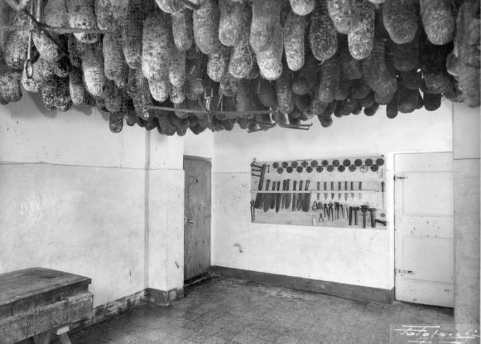 Italian Salami shop